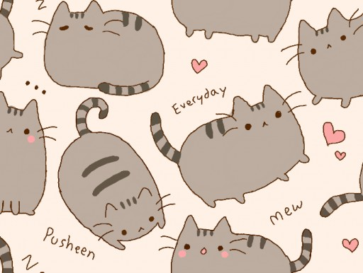 Pusheen The Cat Wallpaper Images Pictures   Becuo 512x386