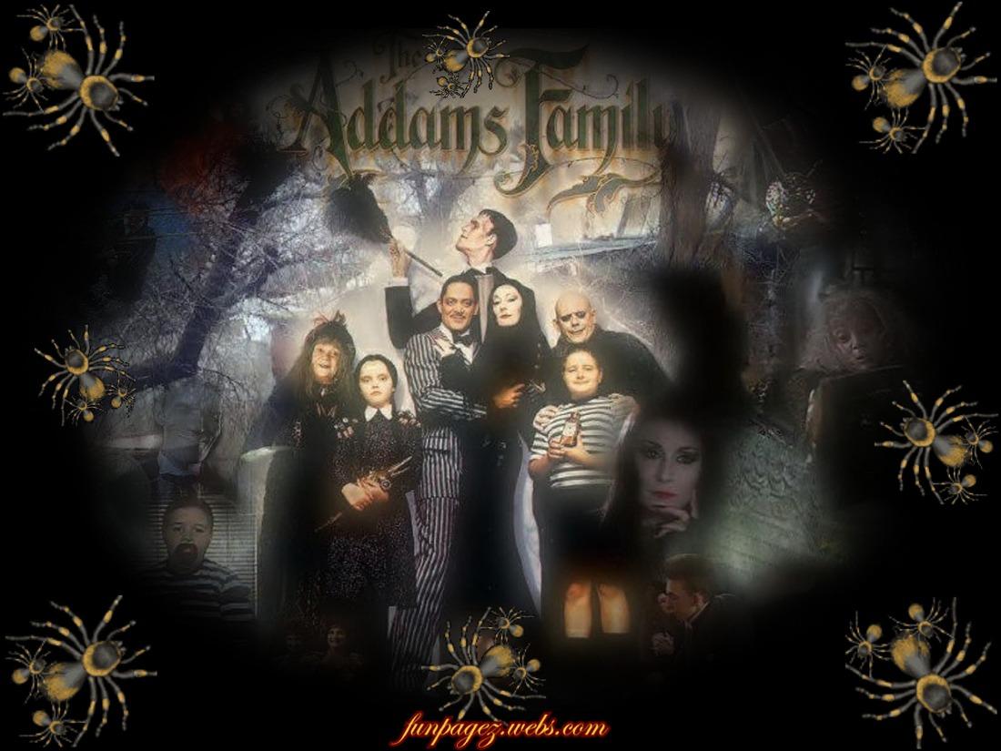 74 Addams Family Wallpaper On Wallpapersafari