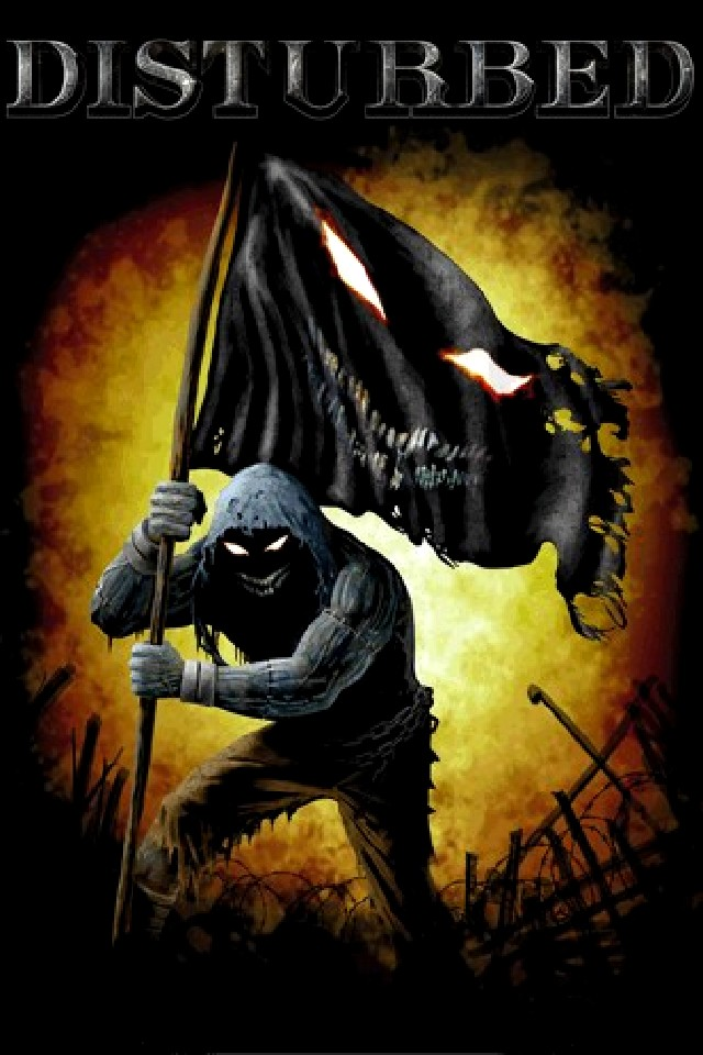 Disturbed from category music and artists wallpapers for iPhone 640x960