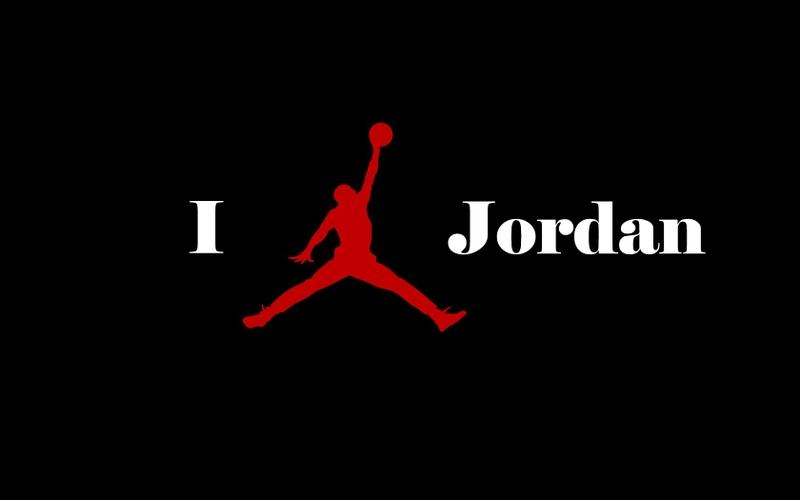 air jordan logo red