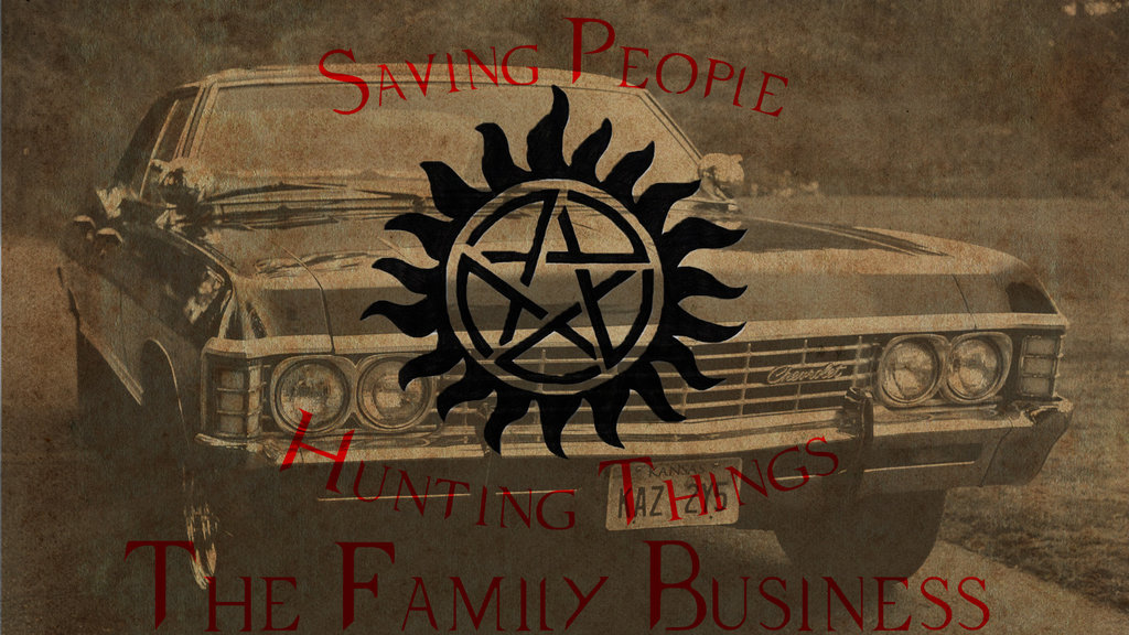 Supernatural wallpaper by Zezzaa 1024x576