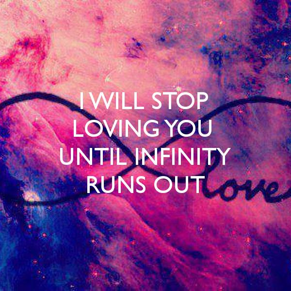 Galaxy Infinity Sign Wallpapers - WallpaperSafari