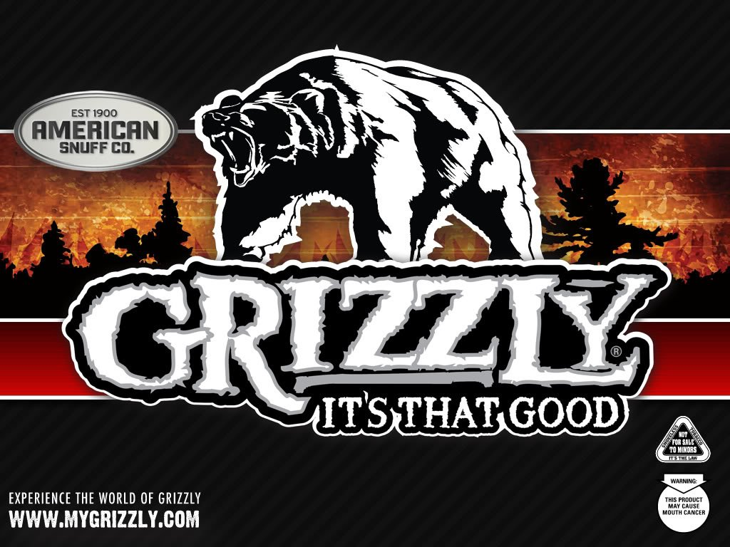 Details about Grizzly Hat chewing tobacco cap camo snuff wintergreen 1024x768