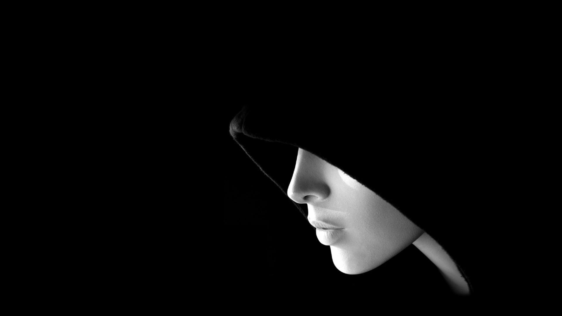 download black background images hd of black and white HD Wallpaper 1920x1080