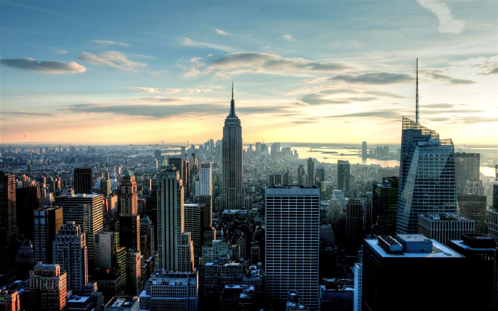 New York City Skyline Wallpapers wallpaper wallpaper hd background 1920x1200