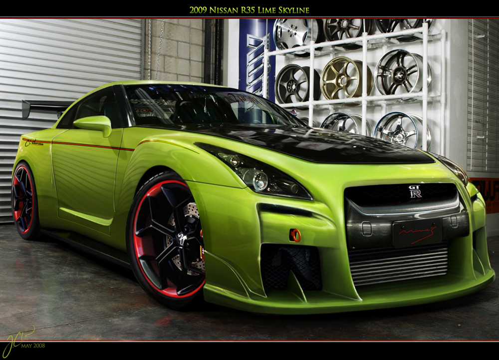 2009 Nissan R35 GTR Skyline   1000x721 18751 HD Wallpaper Res 1000x721