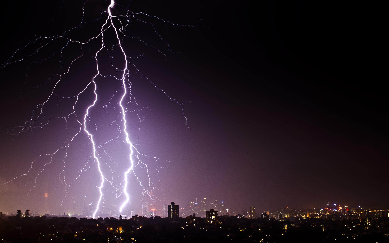 Thunder and lightning wallpaper wallpapersafari - Lightning wallpaper 4k ...