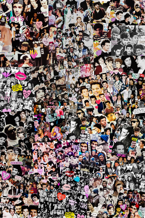 5sos And One Direction Collage Include one direction 500x750