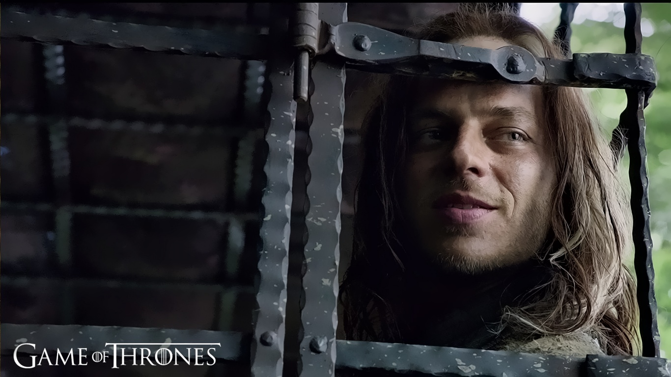 1366x768 Jaqen Hghar Game of Thrones desktop PC and Mac 1366x768