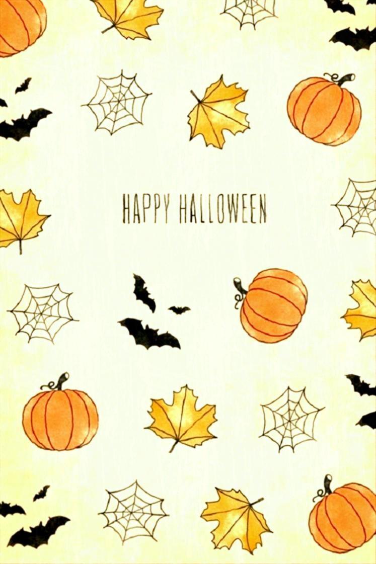 Post Halloween Wallpaper Tumblr Iphone Cute A Fun Party   Cute 747x1121