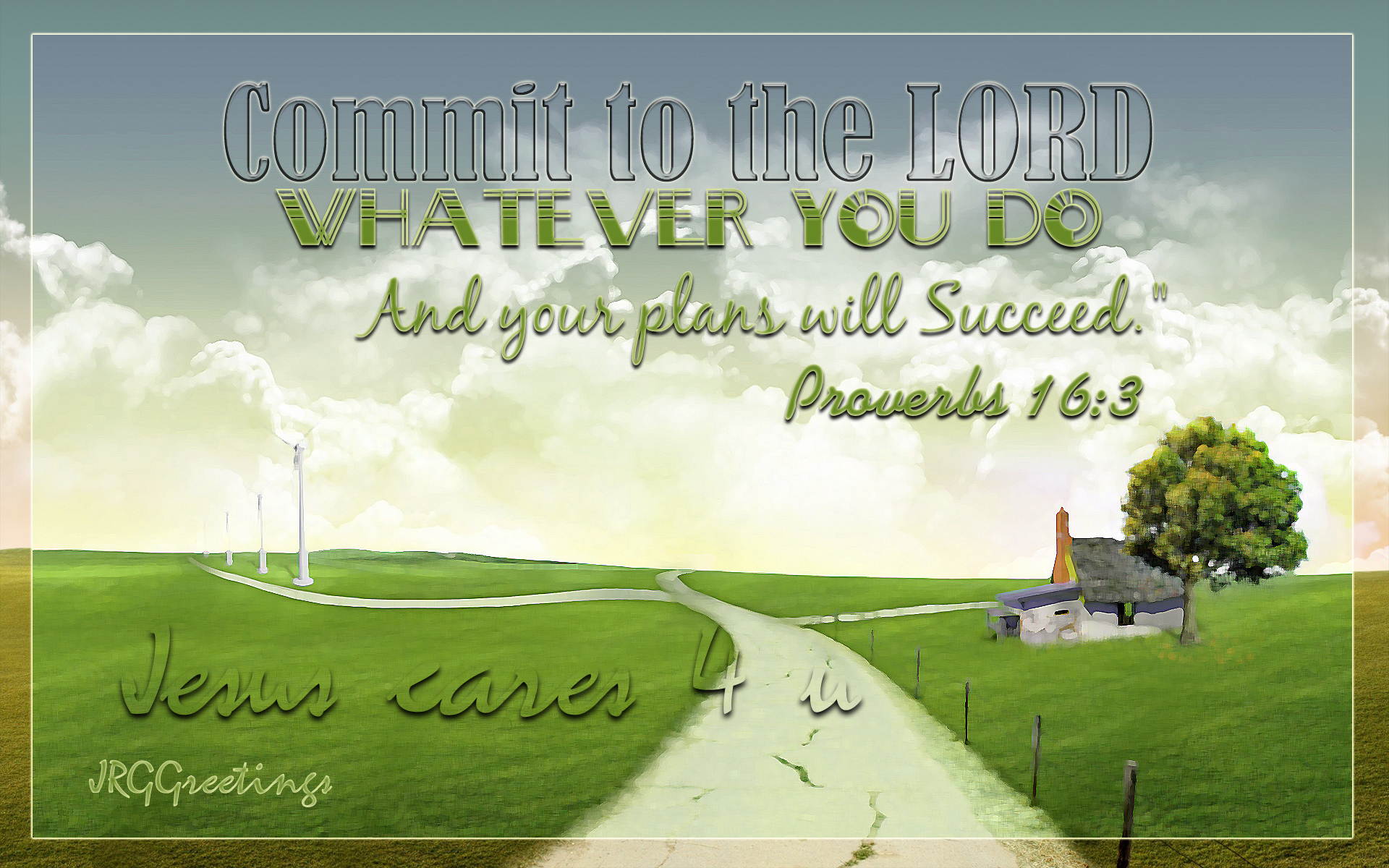 Commit To The Lord Wallpaper   Christian Wallpapers and Backgrounds 1920x1200