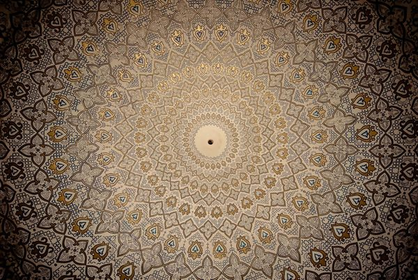 Gold Moroccan Wallpaper Wallpapersafari