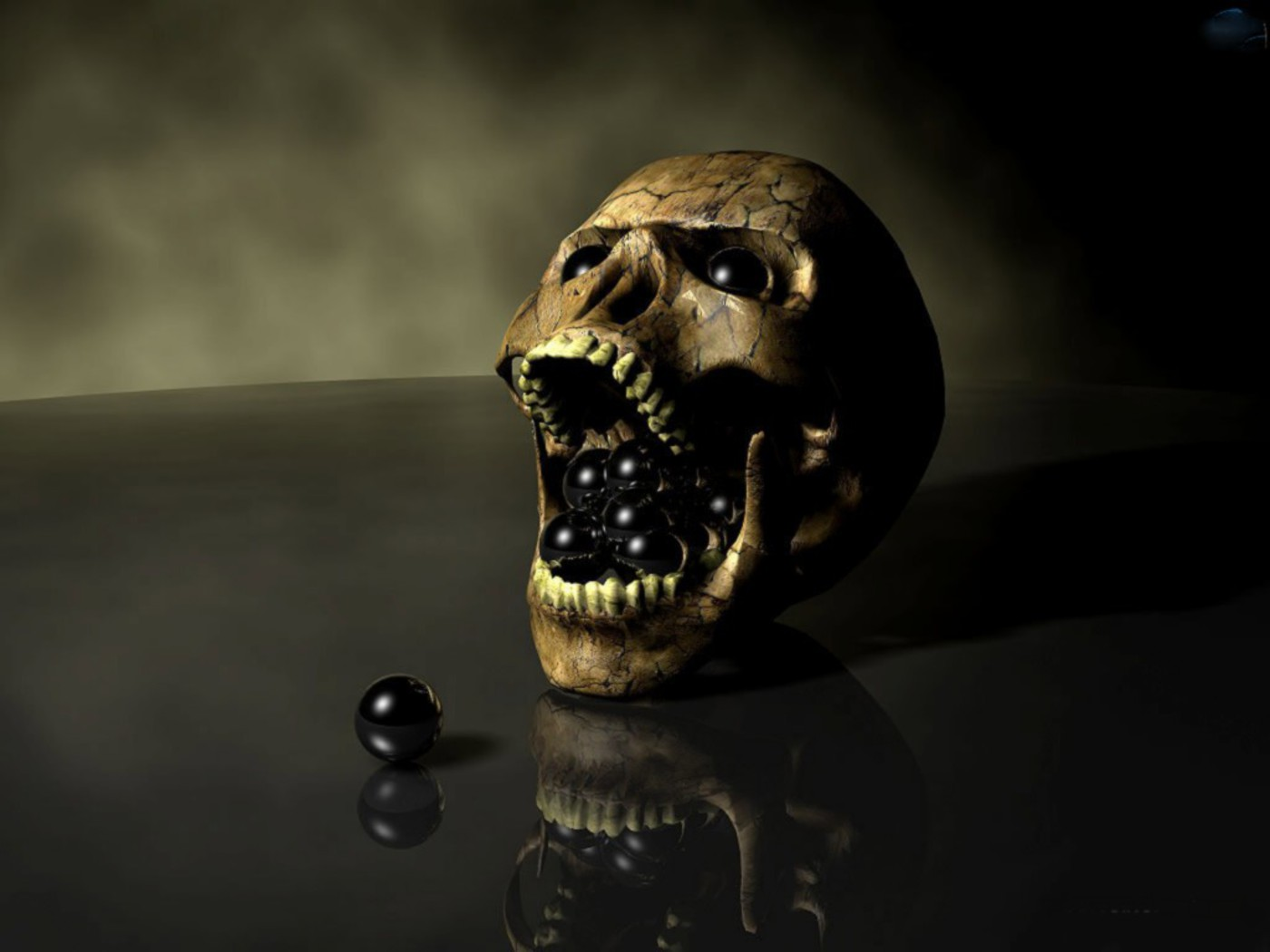 Skull Wallpapers and Backgrounds 1400x1050