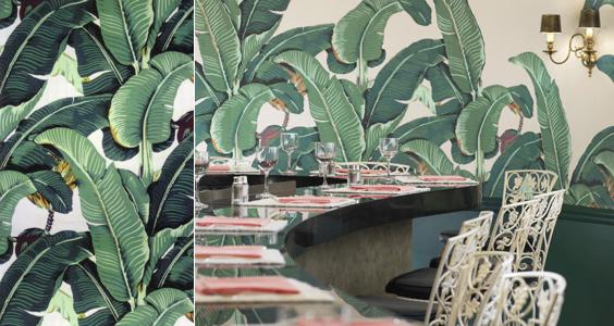 hinson martinique banana leaf wallpaper beverly hills palm beach chic 564x300