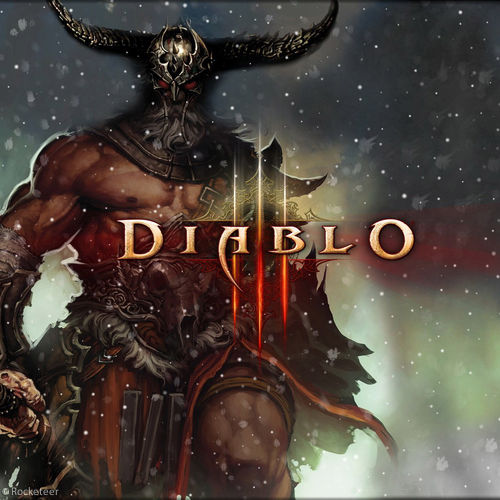 Diablo 3 Wallpaper 1920x1080: Diablo 3 Barbarian Wallpaper