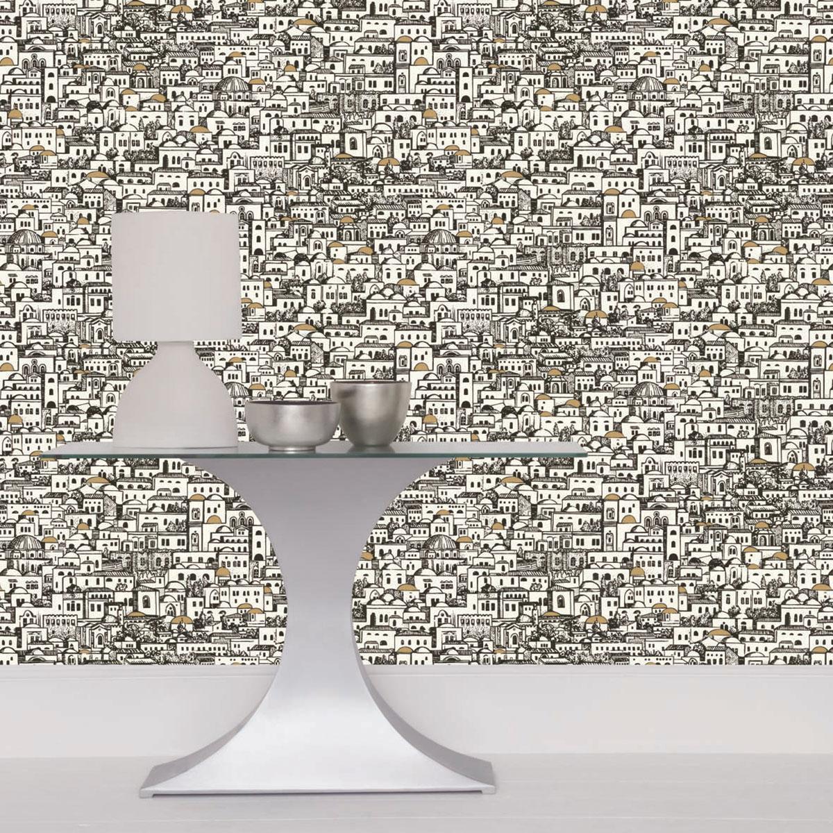 Fornasetti Mediterranea Wallpaper