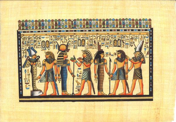 Egyptian wallpaper   Chameleon Collection 600x416