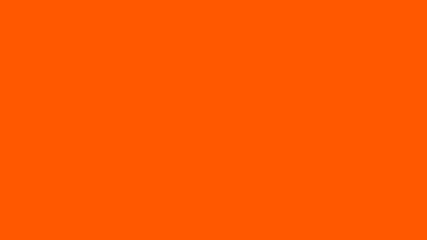 Orange Color Orange pantone solid color 1366x768