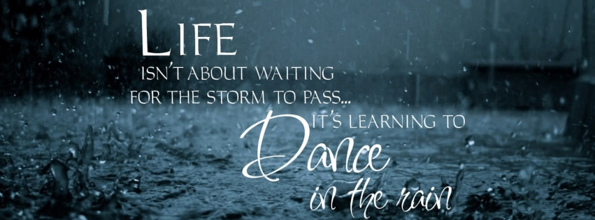 Facebook Cover Photo Thought on Life and Dance Photo 851x315