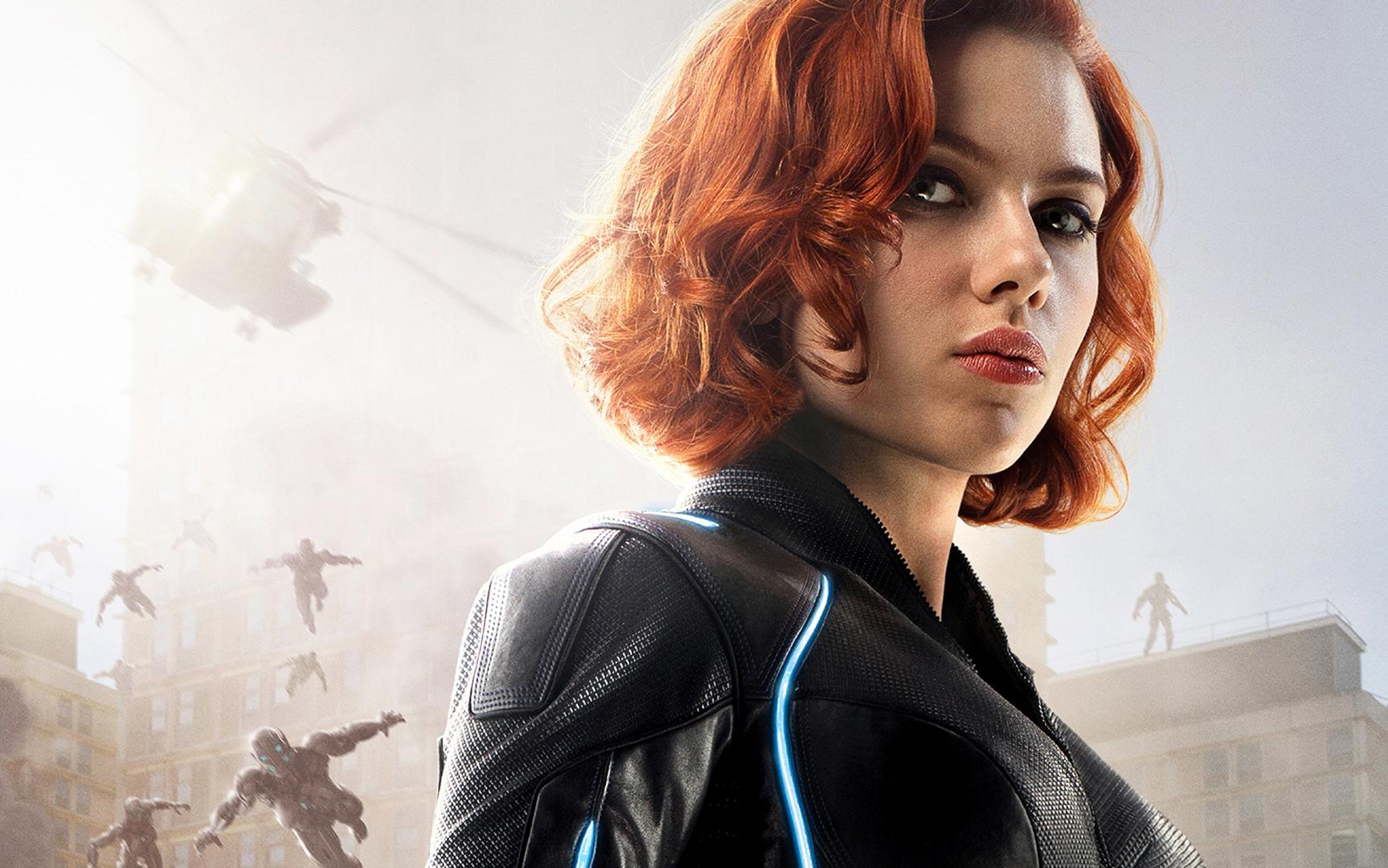 65+] Scarlett Johansson Black Widow Wallpaper on WallpaperSafari