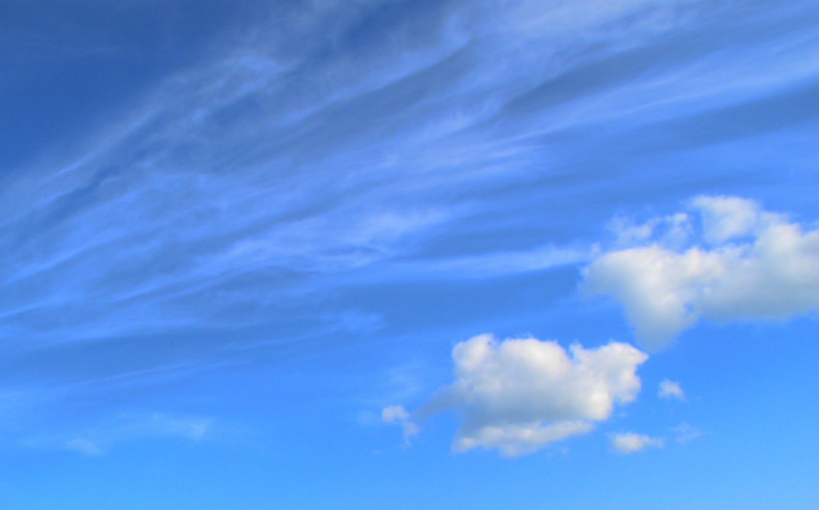 Pictures World Blue sky wallpapers 1600x997