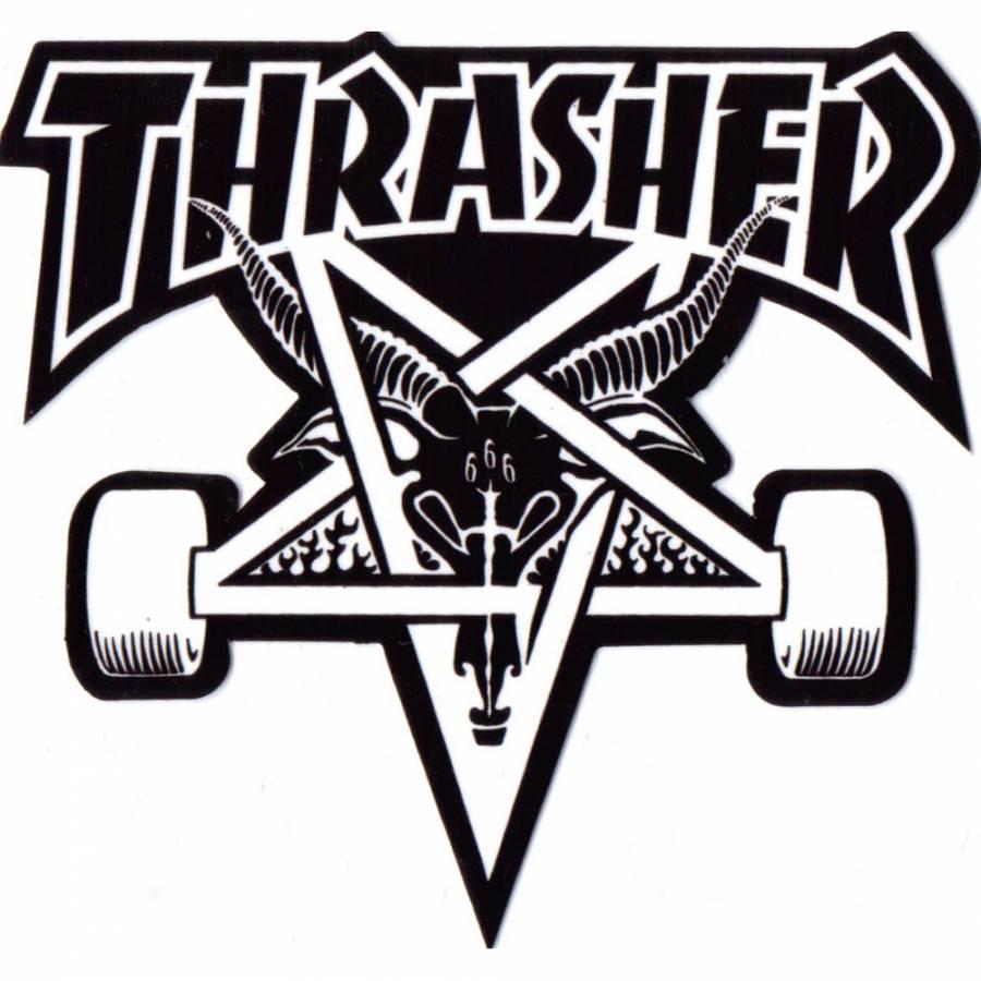 Thrasher Thrasher y ms Thrasher Magazine en Amigos Skateboards 900x900