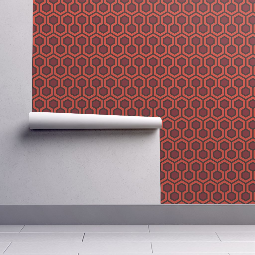 Overlook Hotel Hallway Carpet Large wallpaper   mariafaithgarcia 1024x1024
