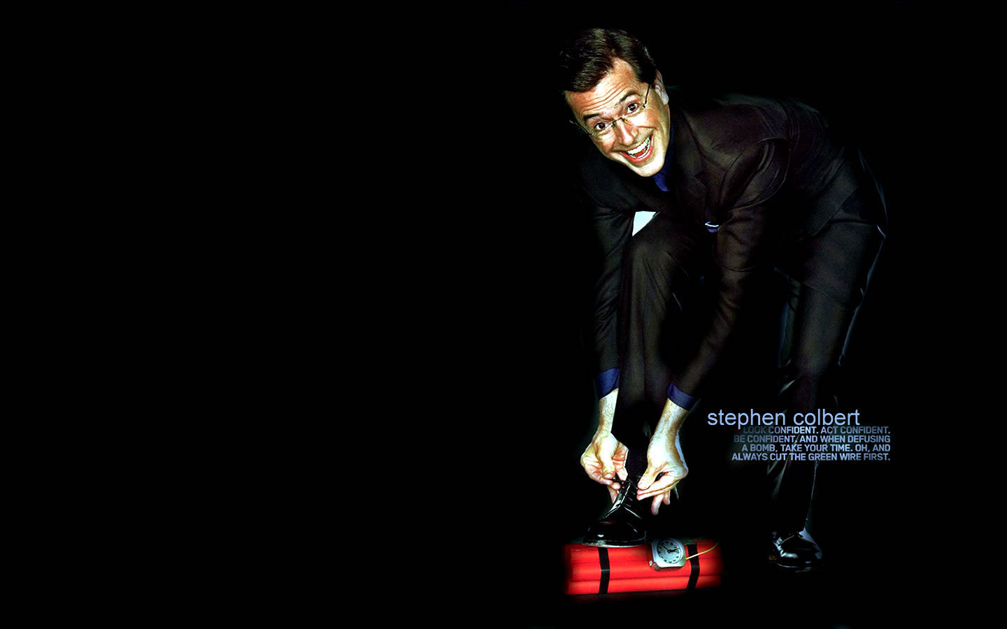 Stephen Colbert images Stephen HD wallpaper and background photos 1440x900