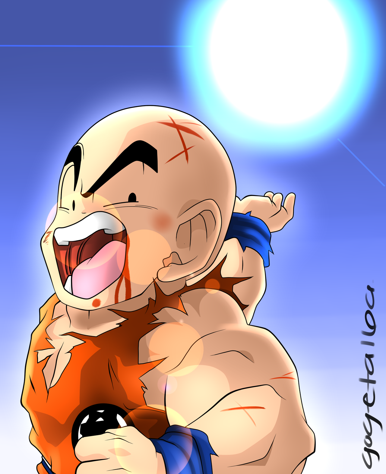 Krillin Wallpaper   Viewing Gallery 1280x1572