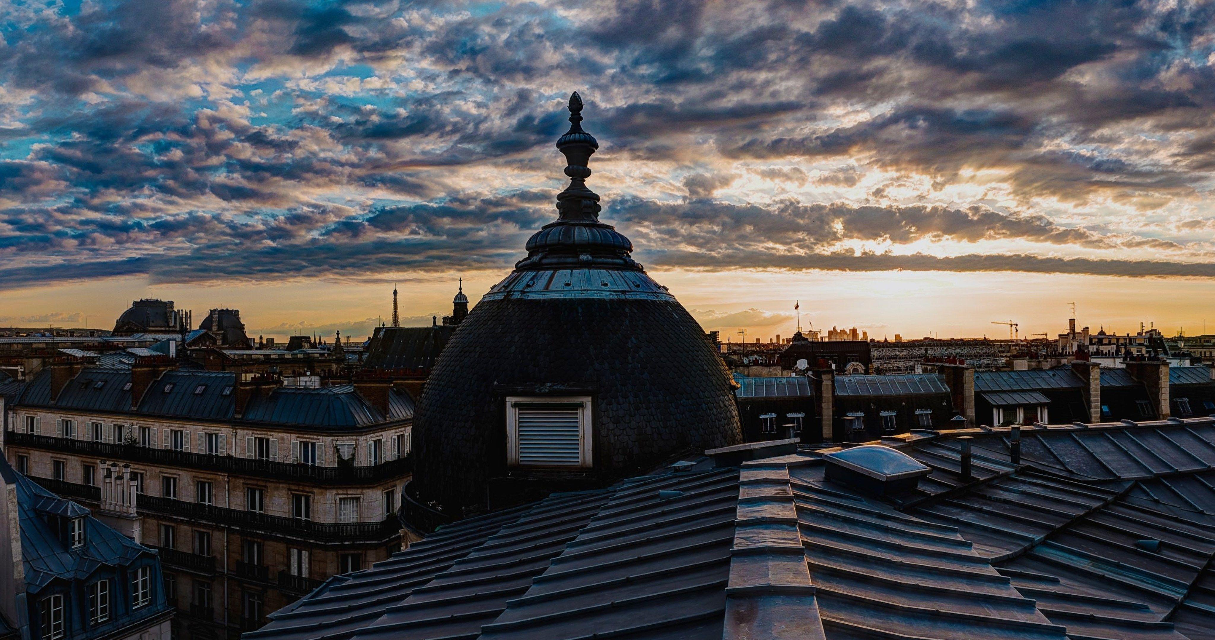 paris roof 4k ultra hd wallpaper ololoshenka Hd wallpaper 4096x2160