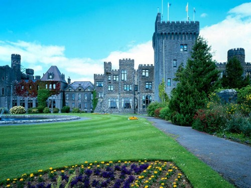 free ashford castle county mayo screensaver screensavers download 500x375
