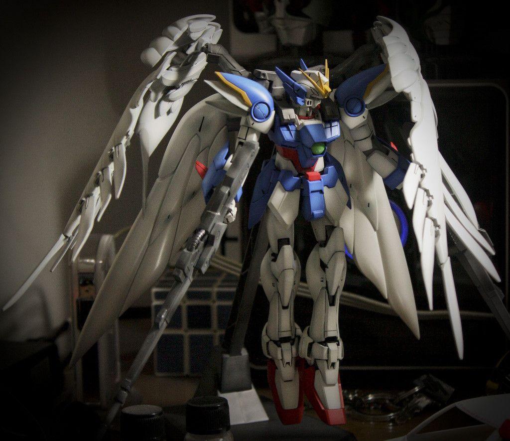 Gundam Iphone Wallpaper: Gundam Wing Zero Wallpaper