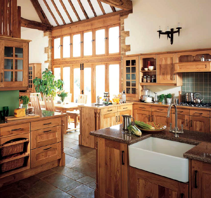 Kitchen Wallpaper Country Style Wallpapersafari