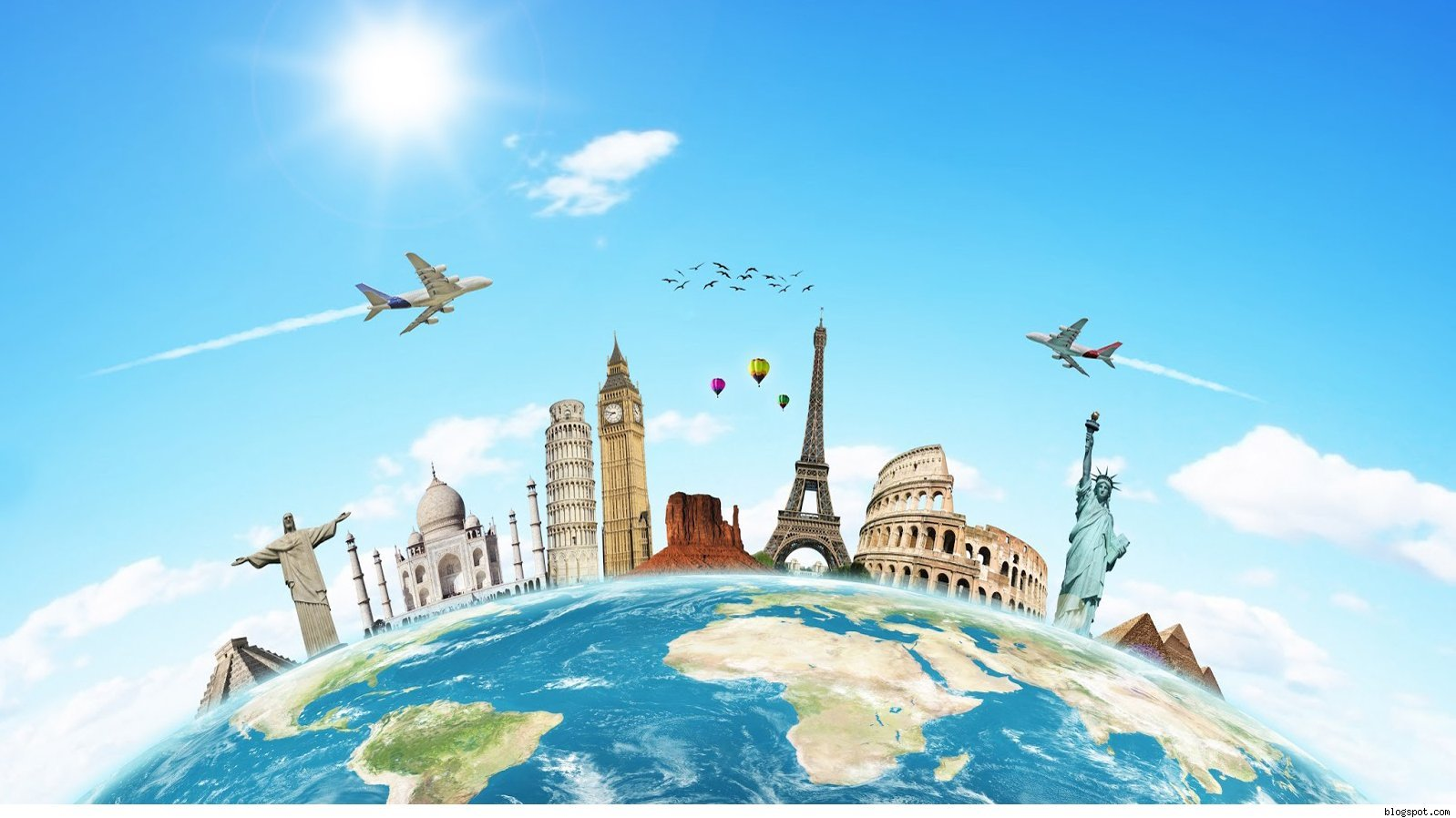 Travel Around The World Download HD Wallpapers 1598x898
