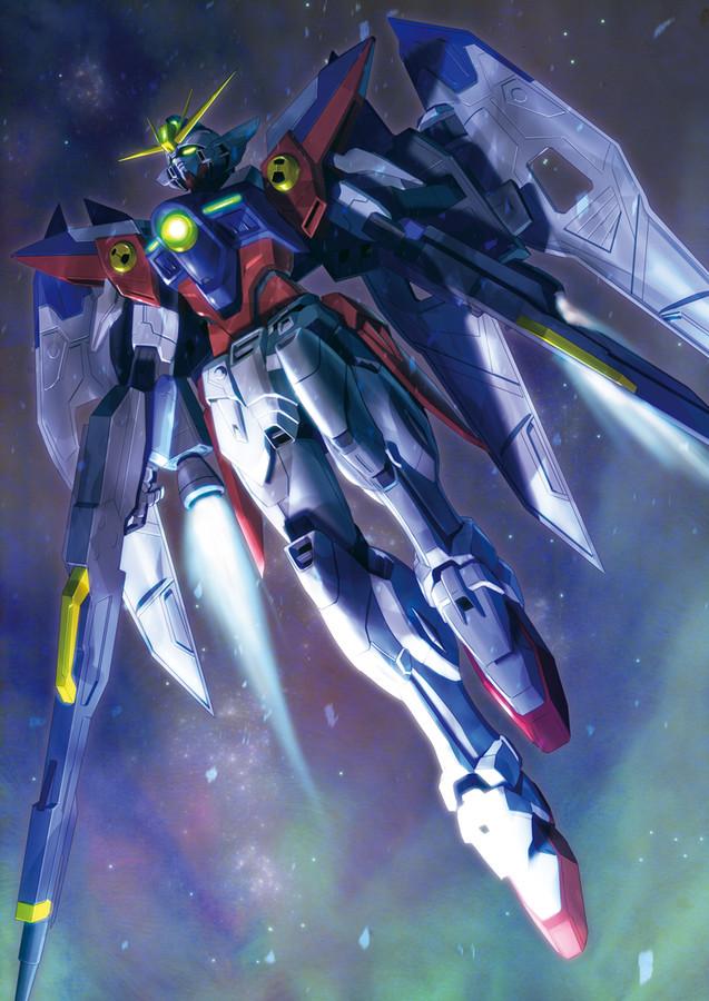 Home Gallery Mobile Suit Gundam Wing Artbooks wing zero 637x900