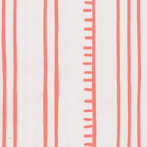 Anna Spiro Higgledy Piggledy Stripe in Chilli Coral Porters 500x500