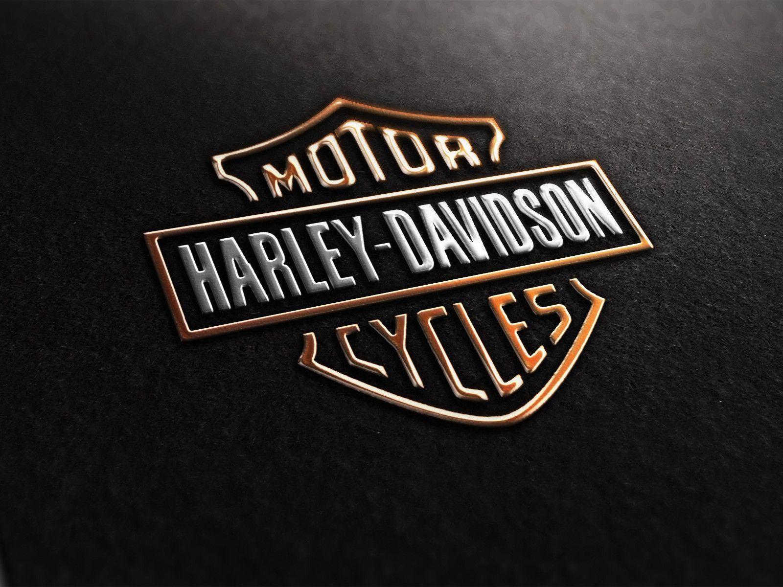 Harley Davidson Logo Wallpapers 1600x1200