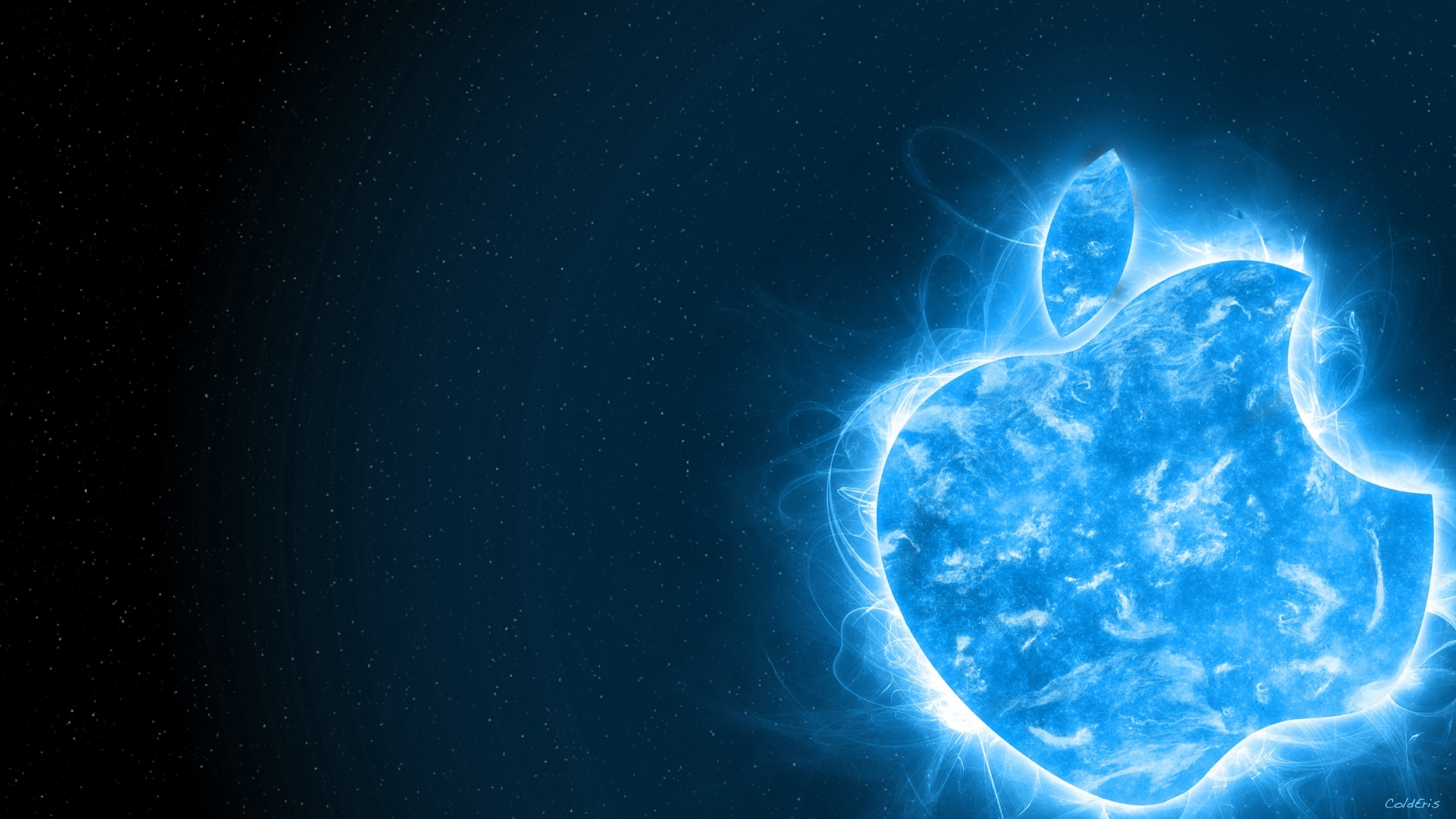 Blue Sunshine Apple Full HD Desktop Wallpapers 1080p 1920x1080