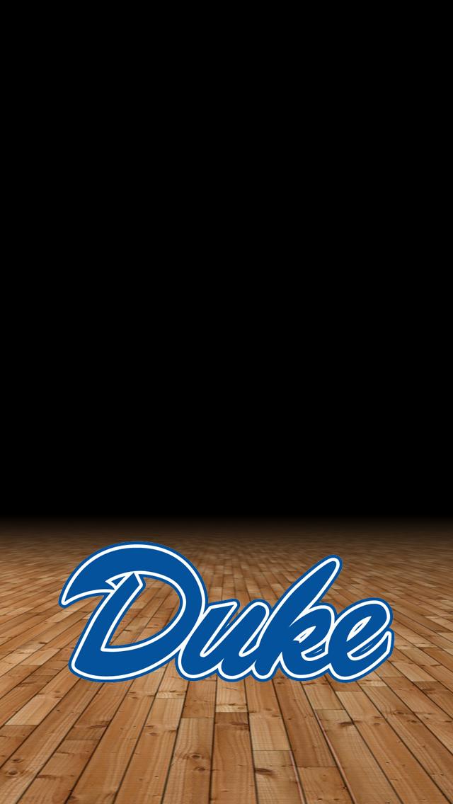 Duke Logo Iphone Wallpaper Duke university wallpaper 640x1136
