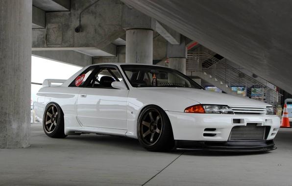 Free Download Wallpaper Tuning Turbo Japan Datsun Face White