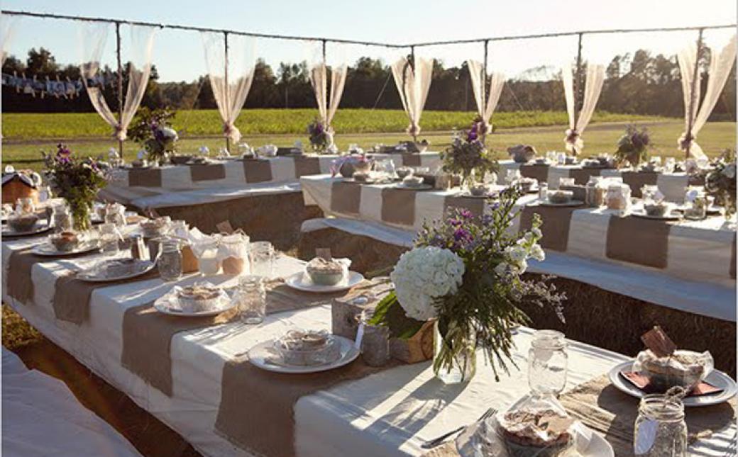 Using Burlap To Decorate For Weddings Choice Image Wedding