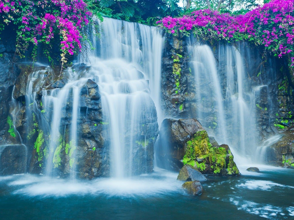 Waterfall Wallpapers   Page 4 1024x768