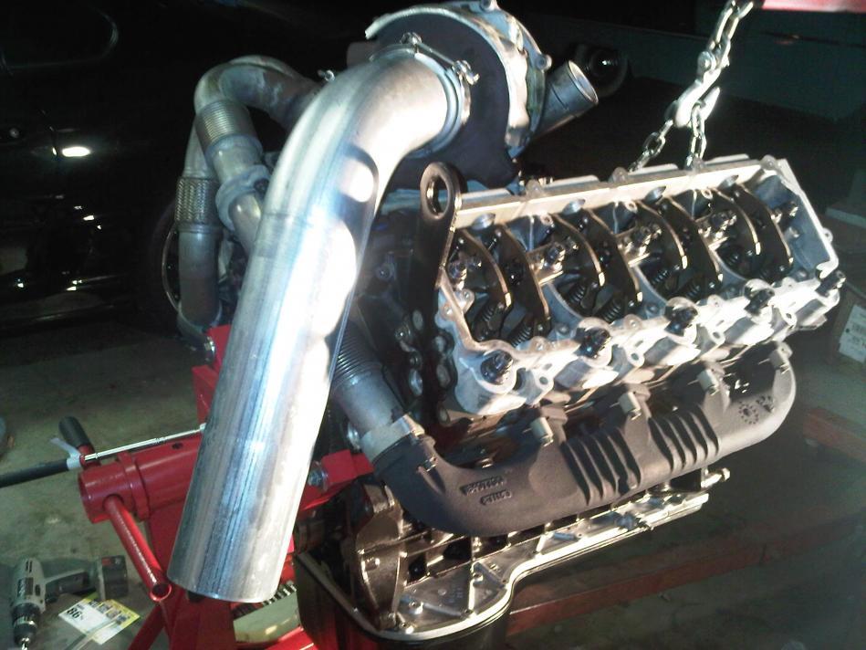 Powerstroke Wallpaper My 2006 powerstroke 60 engine 949x712