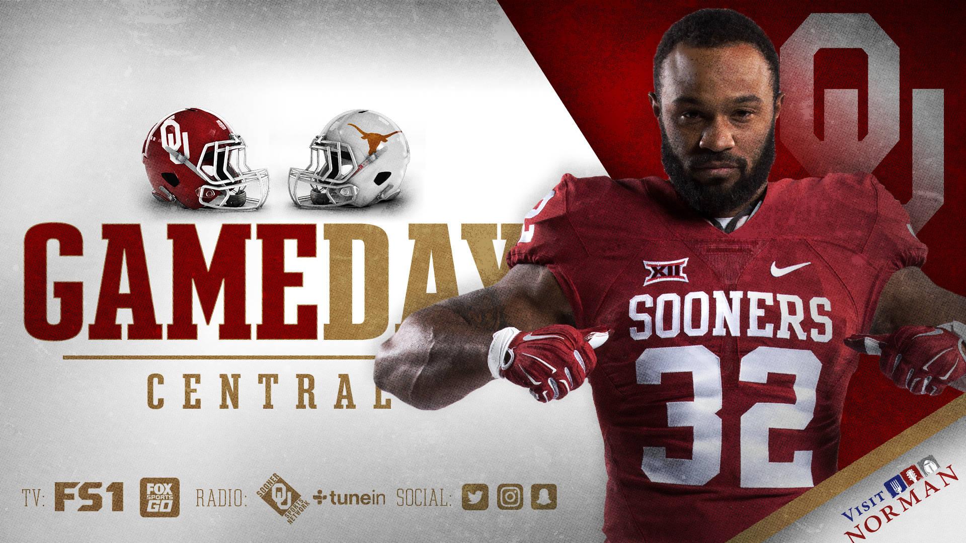 Gameday Central OU vs Texas   University of Oklahoma 1920x1080