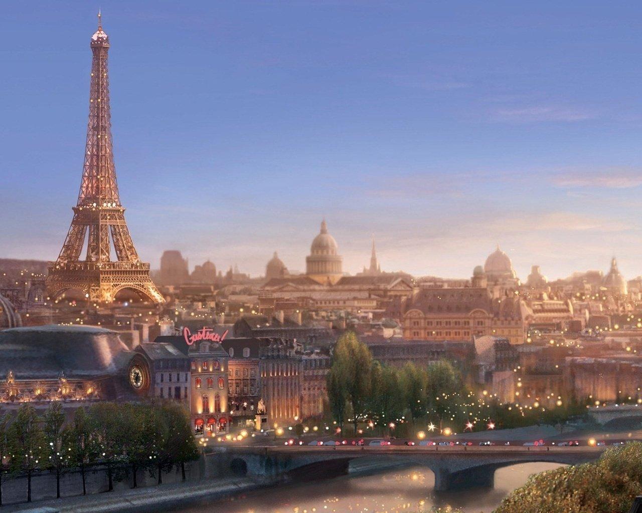 Paris wallpaper   Towns wallpapers   wallpapers Desktop 1280x1024