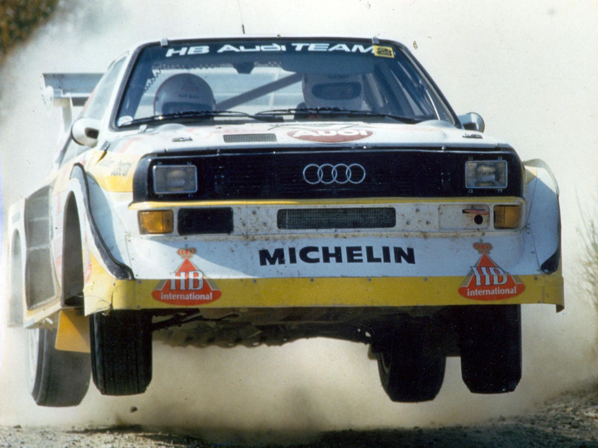 Sport quattro S 1 Group B Rally race racing g wallpaper background 1920x1440