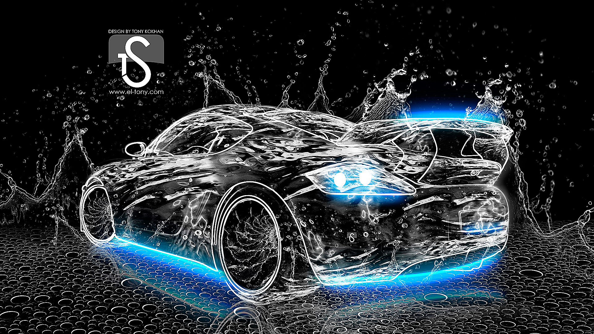 Water Neon Car 1920x1080 [wwwel tonycom] 1920x1080