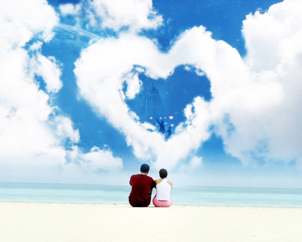 Desktop Wallpapers Backgrounds 7 Beautiful Love Wallpapers for 1024x819