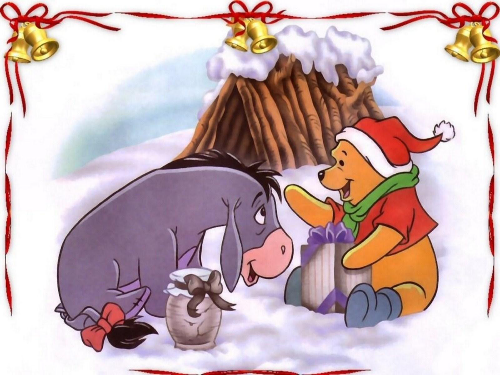 Winnie The Pooh Christmas Wallpaper - 1600x1200 - 265250