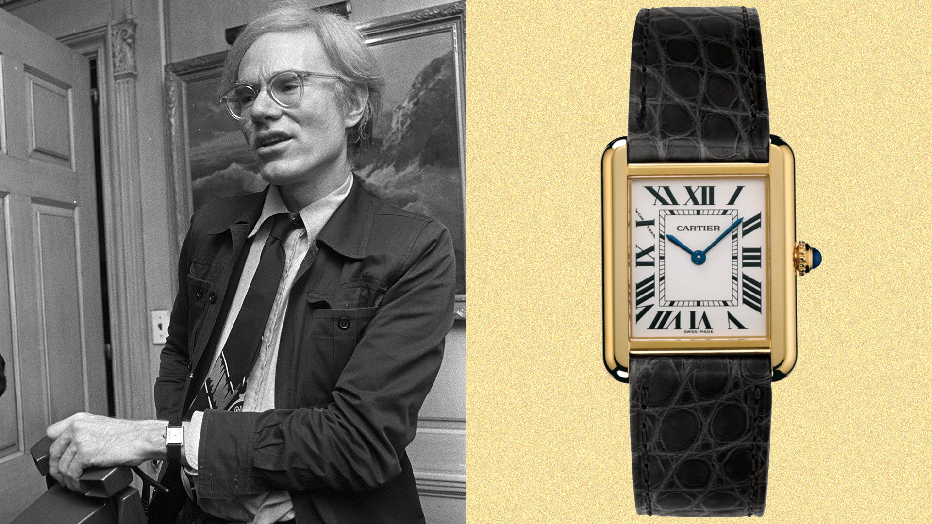 Why Andy Warhol wore a Cartier Tank watch British GQ 1920x1080